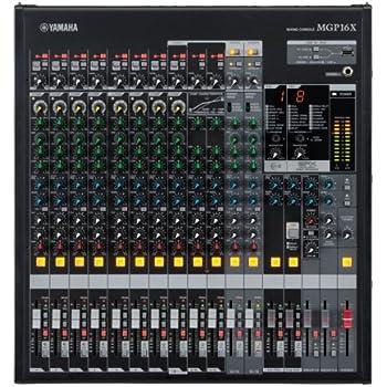 yamaha mixer. yamaha mgp16x 16-channel mixer