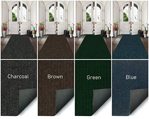 Custom Sized Indoor/Outdoor Runners and Rugs with Rubber Non-Slip Backing