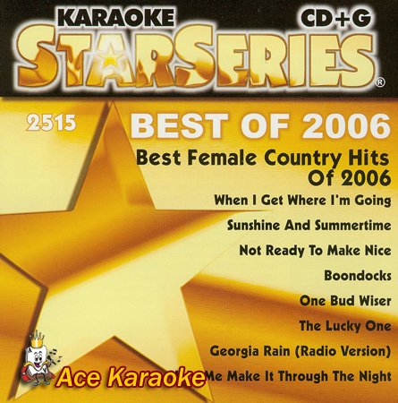 Sound Choice Star CDG SC2515 - Best Of Female Country Hits Of ()