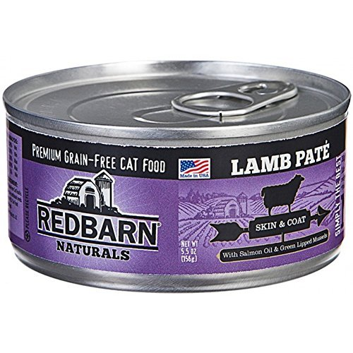 (24 Pack) Redbarn Naturals Pate For Cats Skin and Coat, 5.5 Ounces each