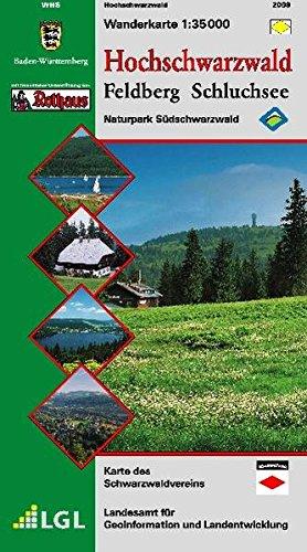 Hochschwarzwald: Feldberg-Schluchsee. 1:35000. Mit touristischen Informationen