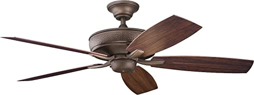 Kichler 310103WCP Ceiling Fan with Light