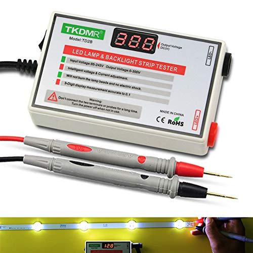 TKDMR LED Lamp Bead TV Backlight Tester – for All LED Lights Repair Output 0-300V (0-300V 30mA)