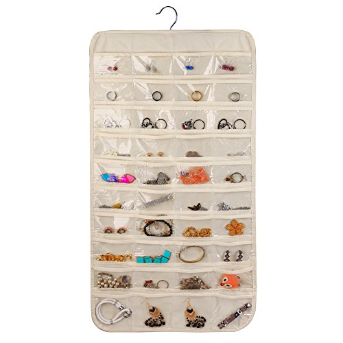 Hanging Jewelry OrganizerAccessories OrganizerNatural Canvas Ultra