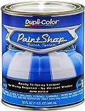 Dupli-Color (BSP204-2 PK 'Paint Shop' Deep Blue (Metallic) Finish System Base Coat - 1 Quart, (Case of 2)