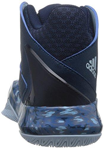 adidas B72957, Scarpe da Basket Uomo Multicolore (Tecste/Iceblu/Conavy)