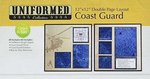 (UNIFORMED U.S. Coast Guard 2 Page Layout)