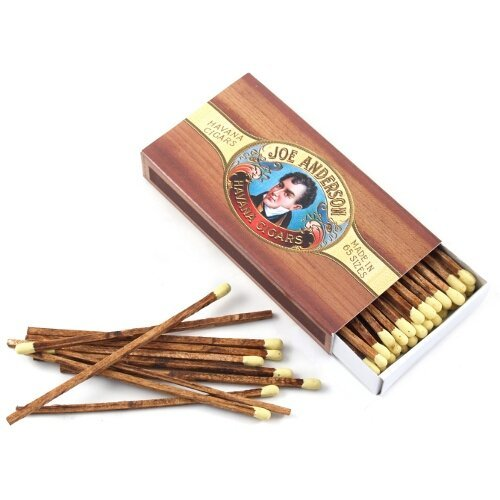 Cigar Matches (HomArt Cigar Large Decorative Matches Set Of 2 matchboxes by HomArt)