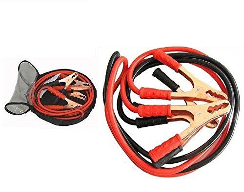 Takestop® Câbles de démarrage avec pinces 2000A - pour batteries de voiture, camping-car, camion, moto, en situation d'urgence en situation d'urgence MOON 1002043