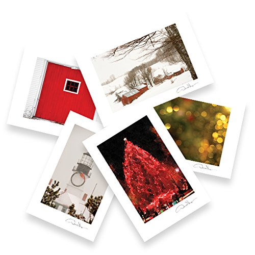 Assorted Holiday Postcard Prints. 4x6, 2 each of 5. Great for Framing. Unique Christmas, Hannukah & Kwanza Gifts. Best Quality Birthday & Valentine's Day Gifts for Men, Women & Kids.