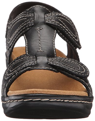 CLARKS Lexi Black Wide Q Walnut 9 Women's D r8xqfr
