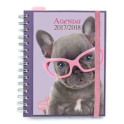 Grupo Erik Editores Studio Pets Dog - Agenda escolar 2017/2018 semana vista