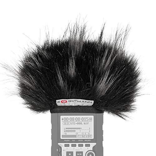 Gutmann Fur Microphone Windshield Windscreen for Olympus DM-620 SLV Premium Edition Star with Inner Lining