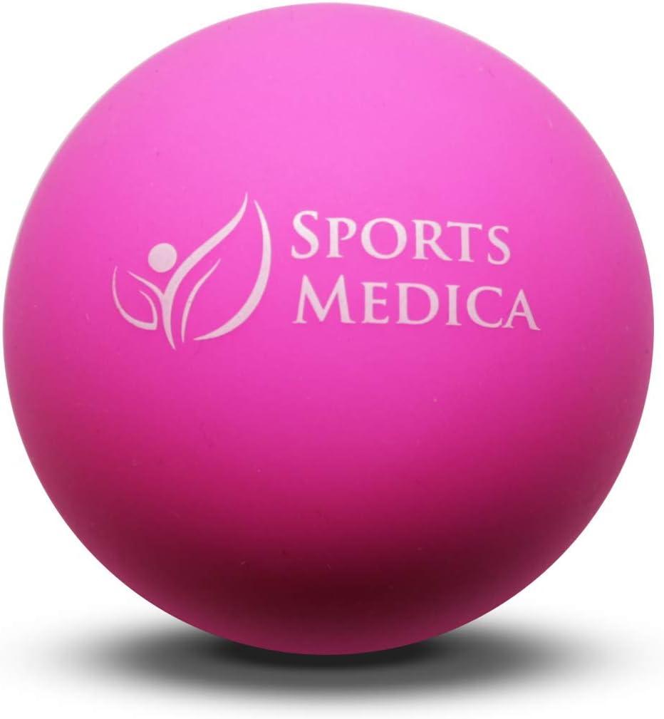 Pelota Fitness de Lacrosse Rosada - Perfecta para la Terapia de ...
