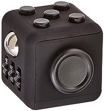 Oliasports Fidget Cube For Fidgeters Toy, Black