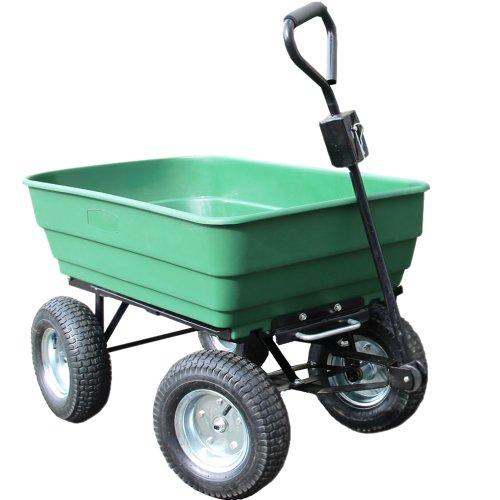 Gartenwagen,4Räder, 125 Liter