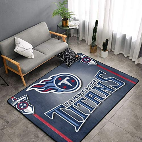 MOOPZEEA Tennessee Titans Ultra Soft Carpet Indoor Fur Area Rugs Home Office Cafe Carpets Suitable