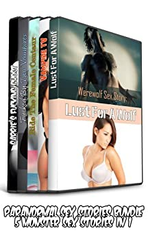 Paranormal Sex Stories - 5 Monster Sex Stories In 1 (Paranormal Sex Bundle) by [Hartley, S L]