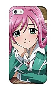 Durable Case For The Iphone 5/5s- Eco-friendly Retail Packaging(creative Moka Rosario Vampire)