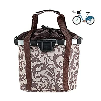 Cat Basket DokFin Soft-Sided Carriers Set, Pet Carrier Bicycle Basket Bag...