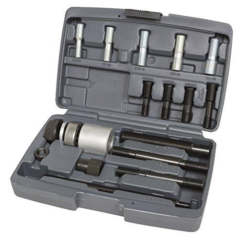 Lisle 53760 Harmonic Balancer Installer Kit (12 Adapters) by Lisle