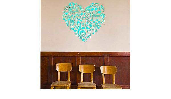 Corazón Tatuajes de pared Vinilo personalizado Pegatinas de arte ...