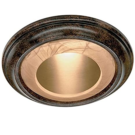 Decorative recessed light cover noble bronze 6 diameter outer decorative recessed light cover noble bronze 6quot diameter outer edge 8quot aloadofball Images