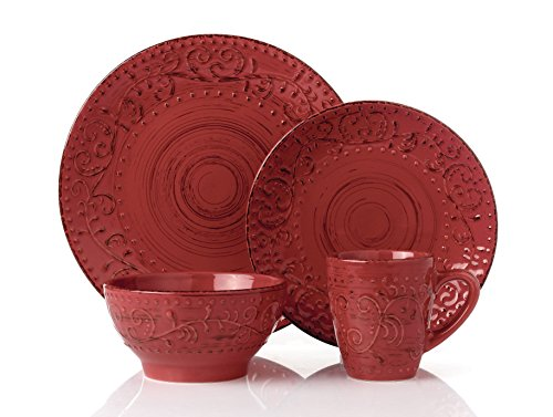 red and green dishes - 1
