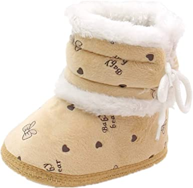 Baby Infant Boy Girls Fall Winter Snow