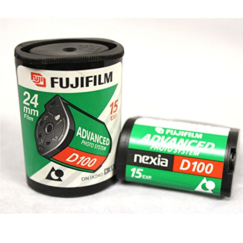 (5-Pack) Fuji APS Film ISO 100-15 Exposures