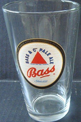 BASS & C PALE ALE Pint Glass
