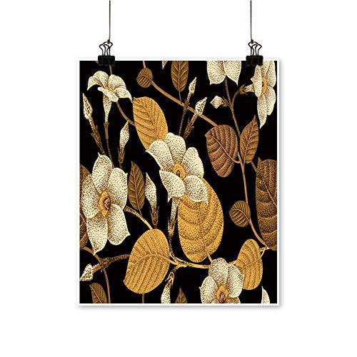 (Wall Decor Climb Ivy Garden Flower bindwee templaate Wall Art for Bedroom Home,12