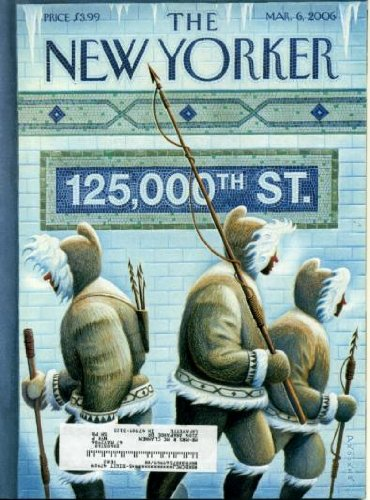 New Yorker Magazine March 6, 2006 Charles D'Ambrosio Fiction, Poems by Jay Hopler and Elizabeth Bishop