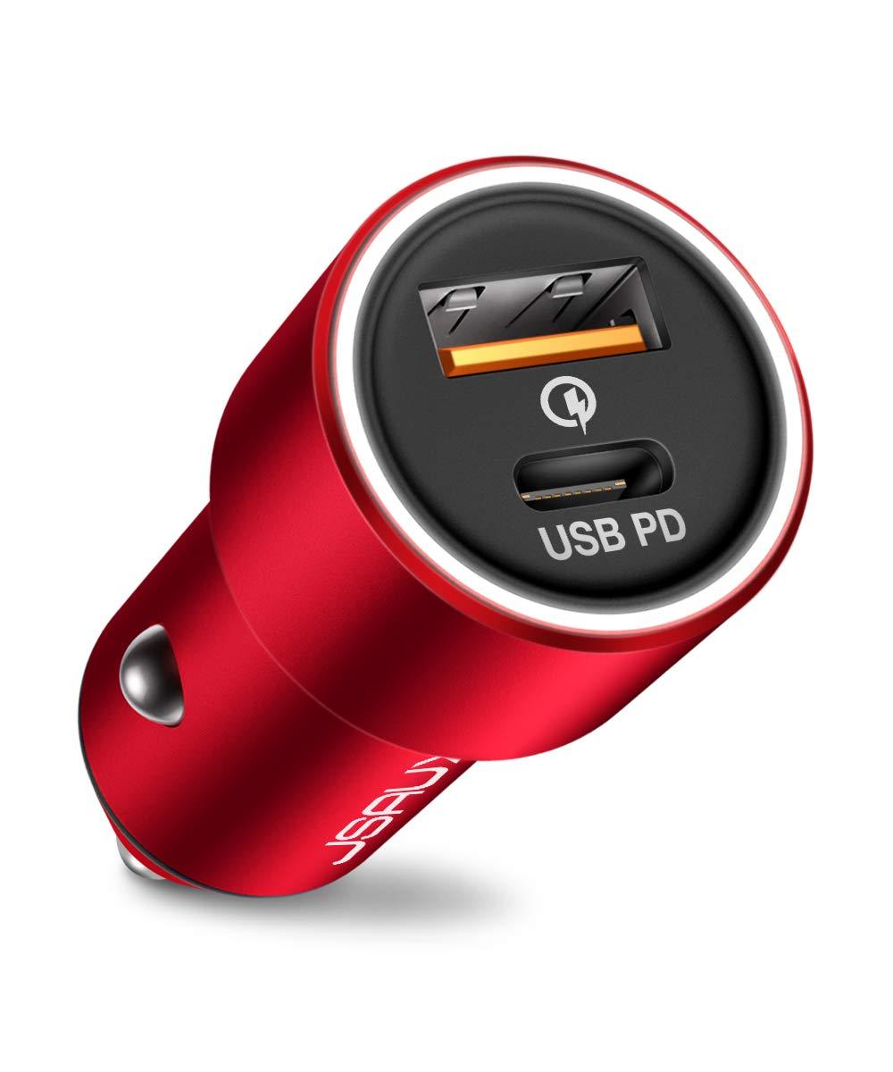 Cargador para Auto USB-C JSAUX (7MT7DR5D)