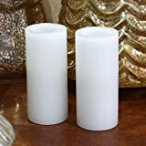 GiveU Flameless Led Pillar Candle With