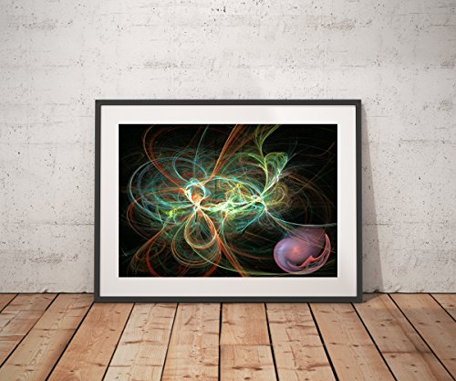 ''A Beautiful Mess'' is the name of this abstract fractal piece. by Ed Warick Fine Art