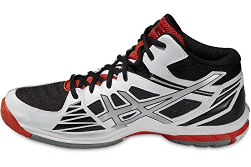 Asics Gel-volley Elite 3 Mt - Zapatillas de deporte Hombre WHITE / SILVER / FIERY RED