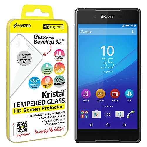 Amzer Kristal Tempered Screen Protector