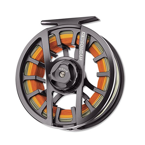 Orvis Hydros SL Fly Reel Black Nickel, III