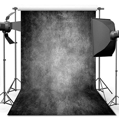 econious Photography Backdrop, 5x7 ft Retro Art Smoked Grey Portrait Backdrop Studio Props Photo Backdrop