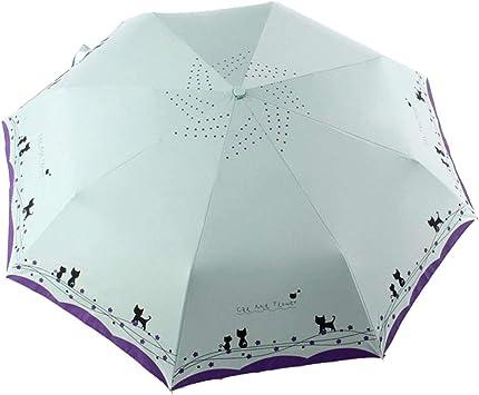 Windproof Travel Umbrella Cute Hello Kitty Compact Folding Umbrella Automatic Open//Close