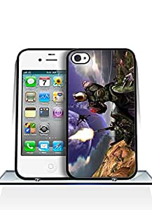 Iphone 4 / 4s Funda Case, Halo 5 Game Dust Proof Colorful Paint Impact Resistant Simple Pattern Shell Protective Funda Case