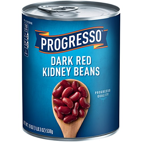 Progresso Dark Red Kidney Beans, 19 oz Cans (Pack of 24) by Progresso