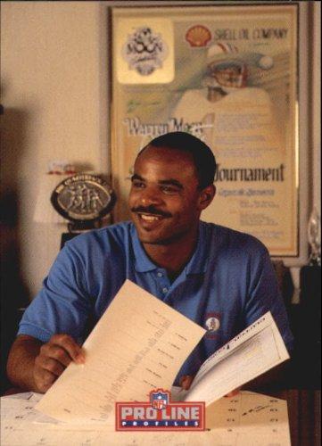 - 1992 Pro Line Profiles Football Card #449 Warren Moon