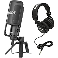 Rode NT-USB USB Condenser Microphone with Stereo Headphones