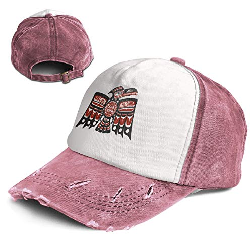 Fashion Vintage Hat Haida Thunderbird Adjustable Dad for sale  Delivered anywhere in USA