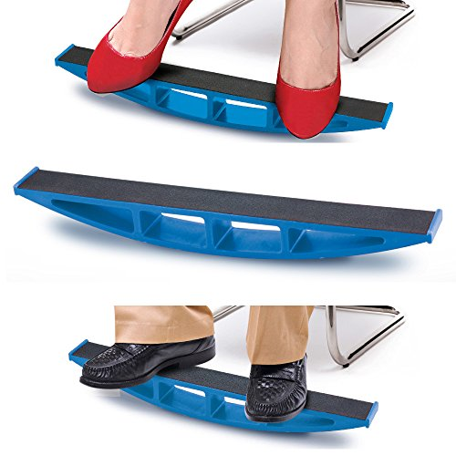 Rocking Leg Exerciser - Great for Office, Home & Travel (2 Pack) by One & Only USA - Rock Ankle Exercise Board