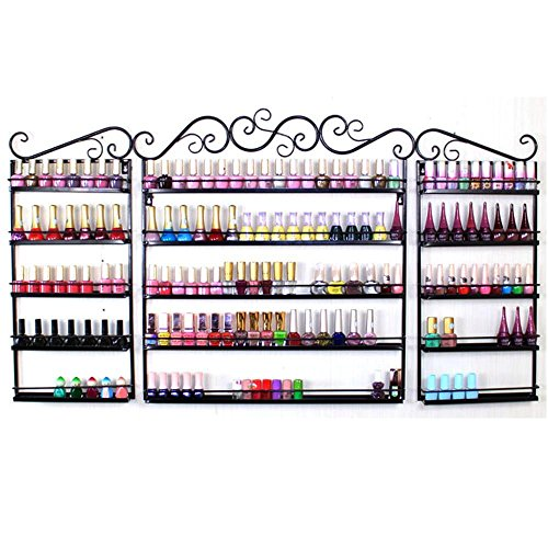 go2buy Metal Nail Polish Wall Rack 5 Tier Organizer for sale  Delivered anywhere in USA