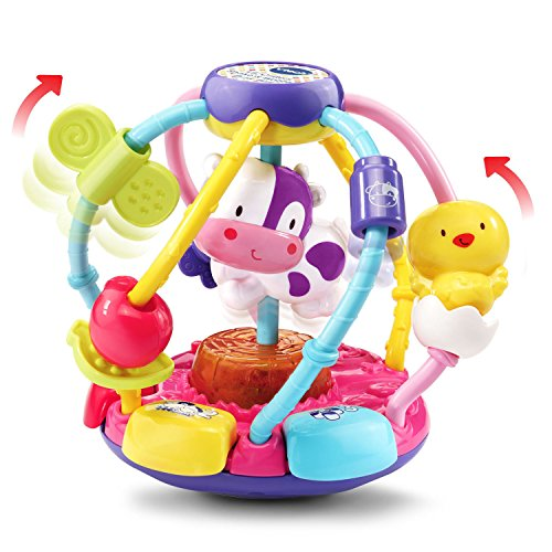 VTech Baby Lil' Critters Shake and Wobble Busy Ball Amazon Exclusive, Purple