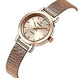 WWOOR Women's Rose Gold Stainless Ultra Thin Quartz Watch Fashion Elegant Casual Business Wrist watch